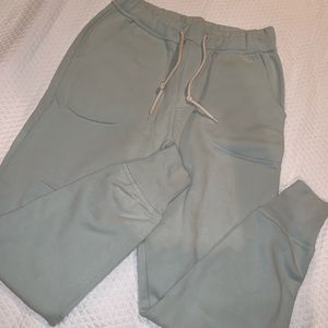 Urban outfitters light green/blue joggers